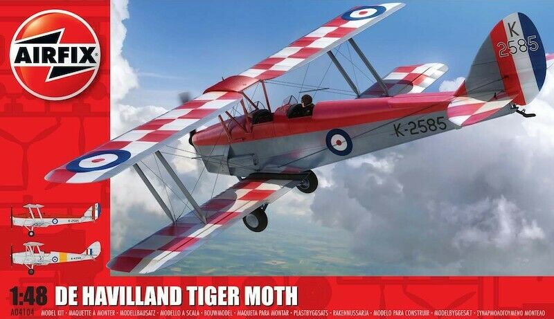 Airfix 1:48 Tiger Moth. New 2020 Tooling
