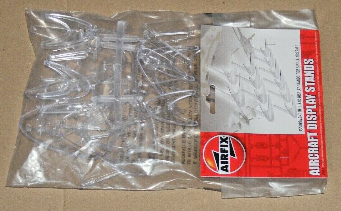Airfix Assorted clear plastic aircraft stands Stands