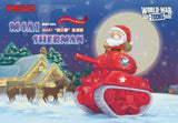 MENG World War Toons M4A1 Sherman Christmas Edition Toon