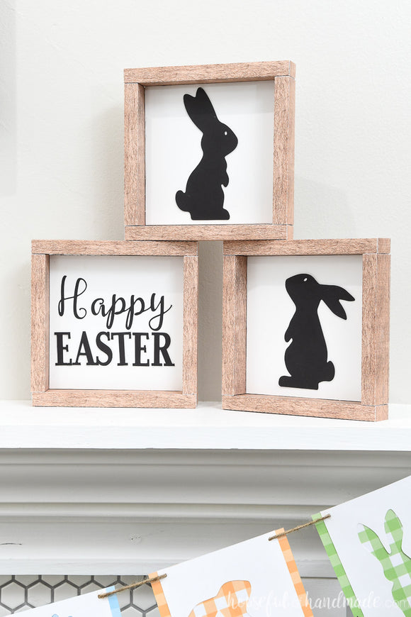 Small Easter Sign Cut Files