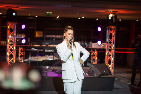 The entrance show of #BEAUTYMEETSFASHION was performed by our superb #LMicons accompanied by the official song Lili Margo performed live by Lukas Abdul. They set the tone for the evening and charmed all our guests with their natural beauty and softness.