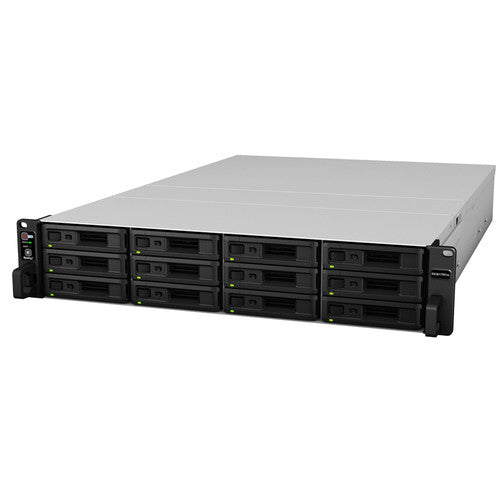 (USED) Synology RackStation RS3617RPxs 12-Bay NAS (48TB Bundle)