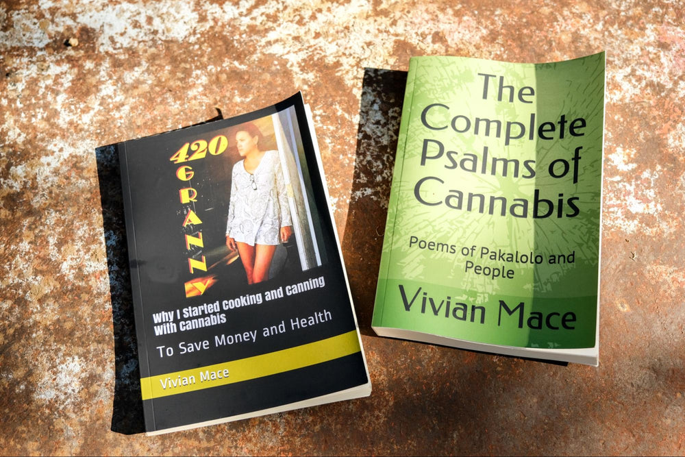 Vivian Mace's self published books that can be found on Amazon.