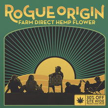 Cover for Rogue Origin Product Catalog with 30% off code inside