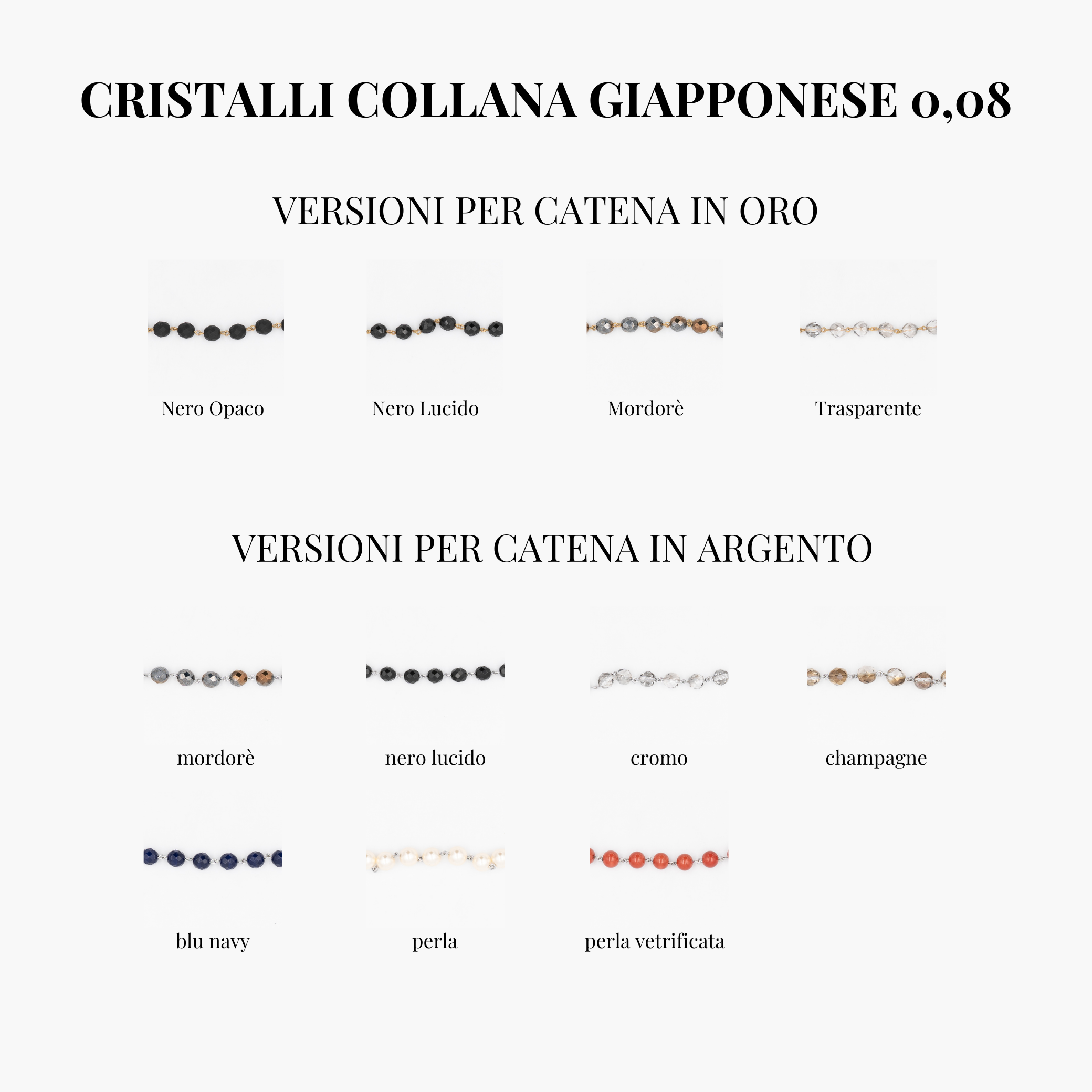 Collana Giapponese