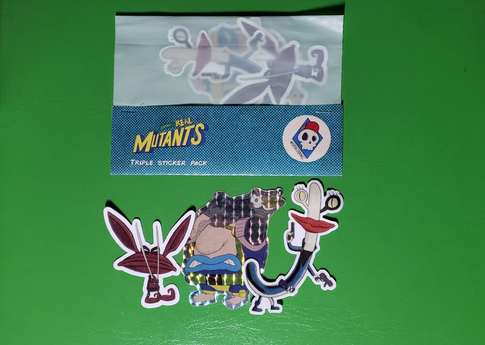 Aaahh Real Mutants Sticker Pack