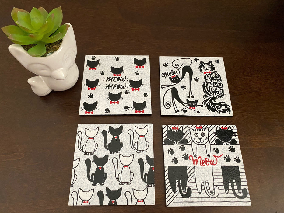 Cat Lovers Coasters