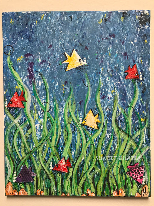Life Under the Sea - Living in Harmony Painting