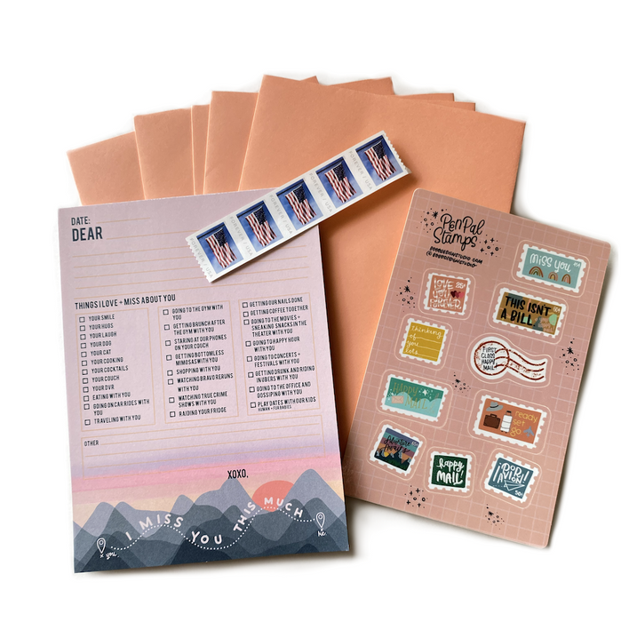 Wanderlust Passport - Letter Writing Kit