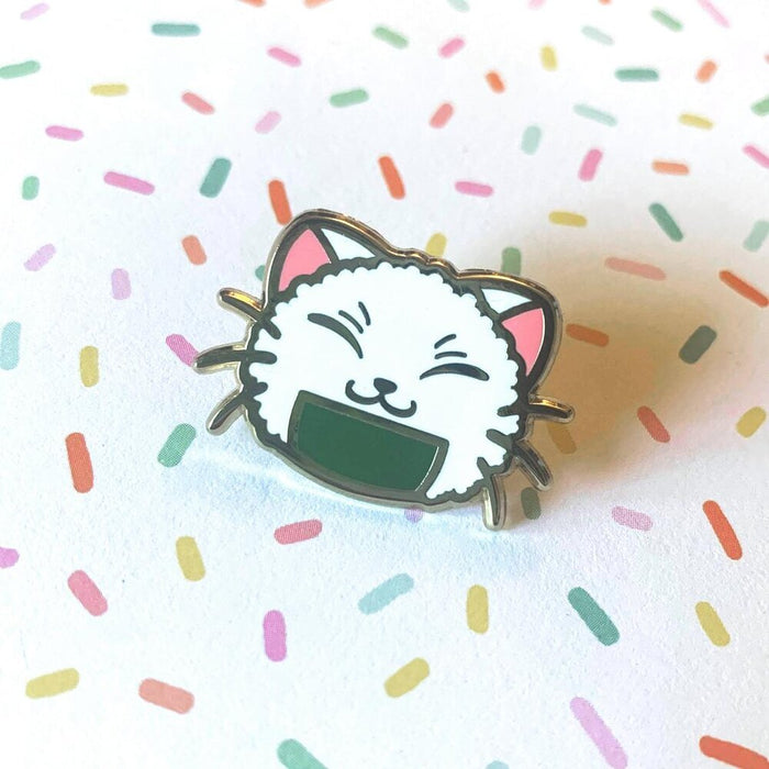 Meow-Nigiri Cat - Gold Enamel Pin