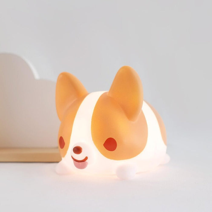 Super Fluffy Corgi LED Light