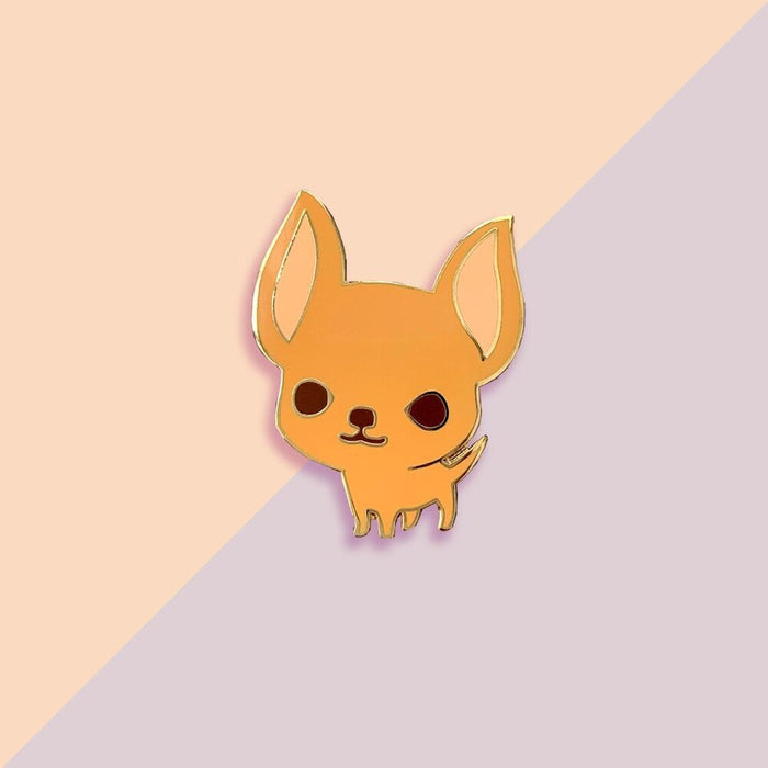 Chichuahua Pin (Tan)