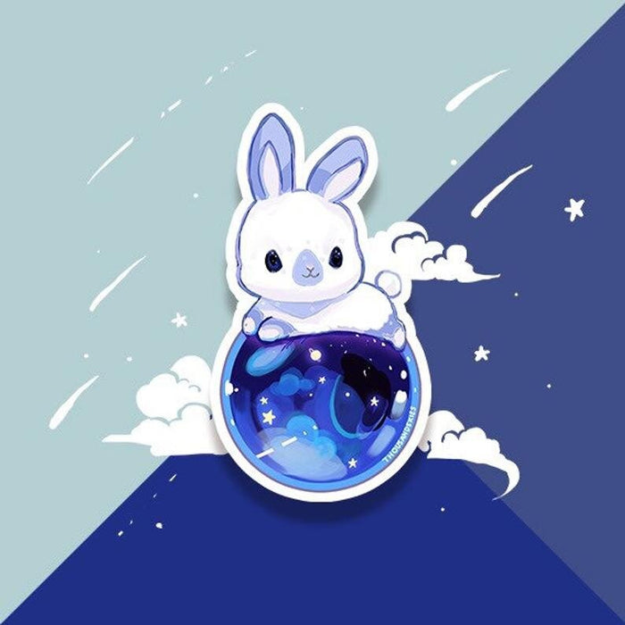 Holographic Bunny Universe Sticker