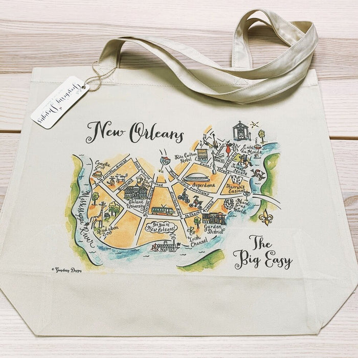 New Orleans City Tote