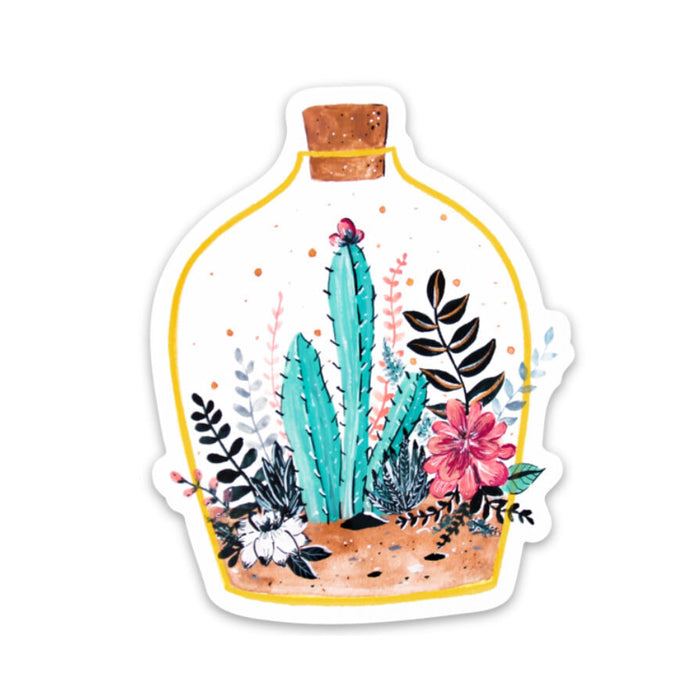 Terrarium Sticker