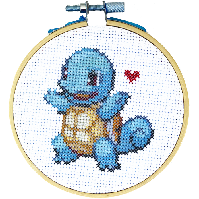 Squirtle - DIY Cross Stitch Kit