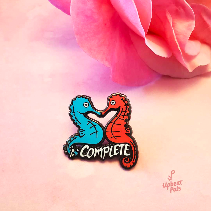 Seahorse Lovers Pin