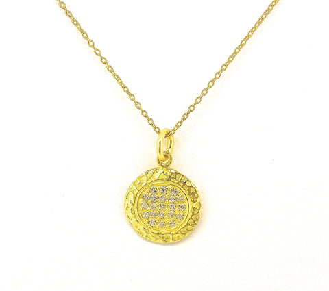 Courage Circle Necklace