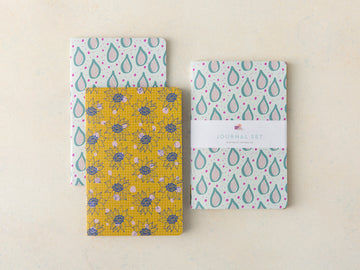 Bloom and Teardrop Journal Set