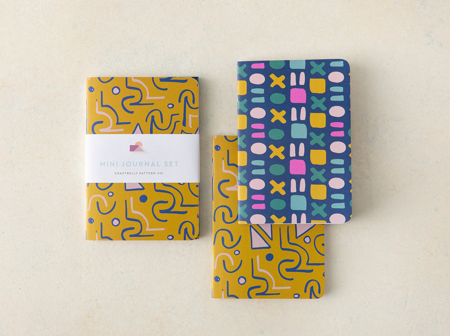 Multiply and Shindig Mini Journal Set