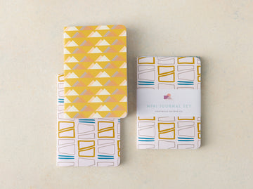 Contours and Peaks Mini Journal Set