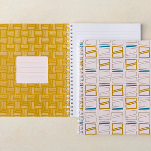 Contours Lined Notebook