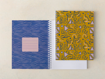 Shindig Lined Notebook