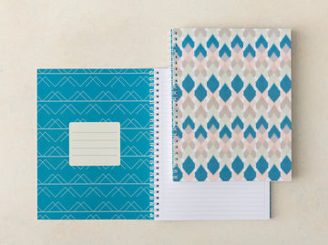 Spring Kilim Lined Notebook
