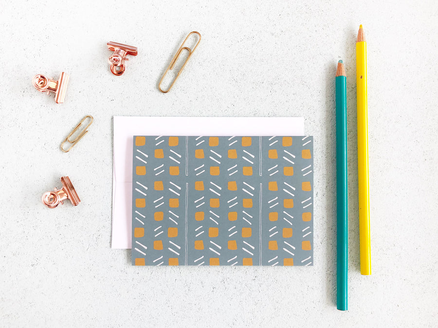 Dot and Dash Note Card Set