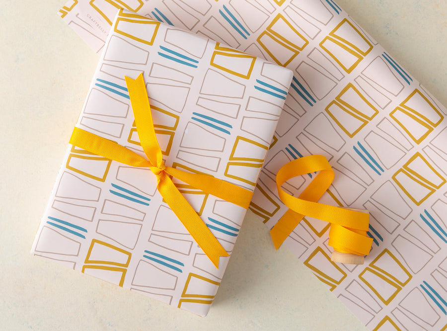 Contours Wrapping Paper Sheets