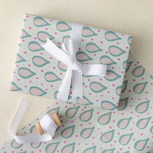 Teardrop Wrapping Paper Sheets