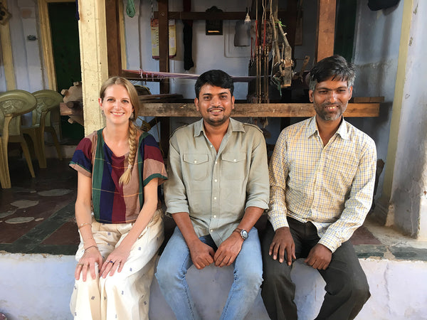 Seek Process: Visiting Some of Seek's Handloom Weavers
