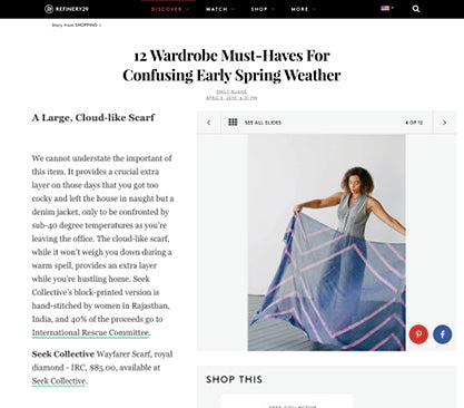 refinery 29 seek collective press