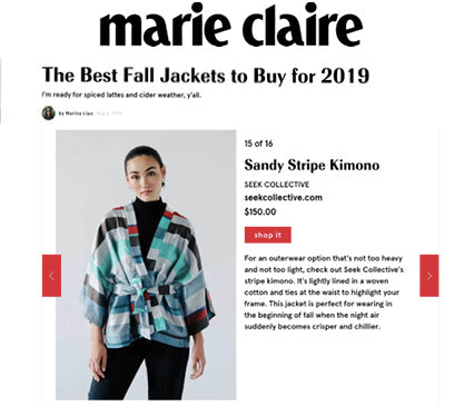 marie claire seek collective press