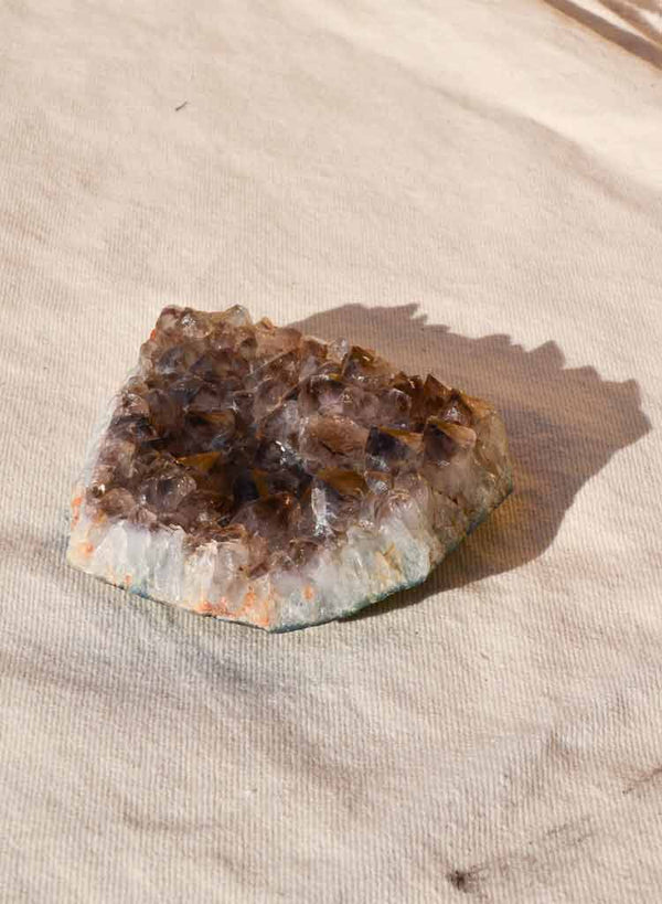 Market Finds: Large Smoky Quartz Crystal Geode