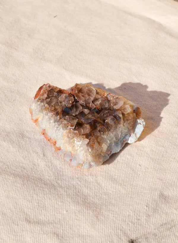 Market Finds: Medium Smoky Quartz Crystal Geode