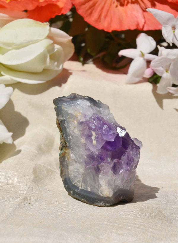 Market Finds: Amethyst Crystal Slice