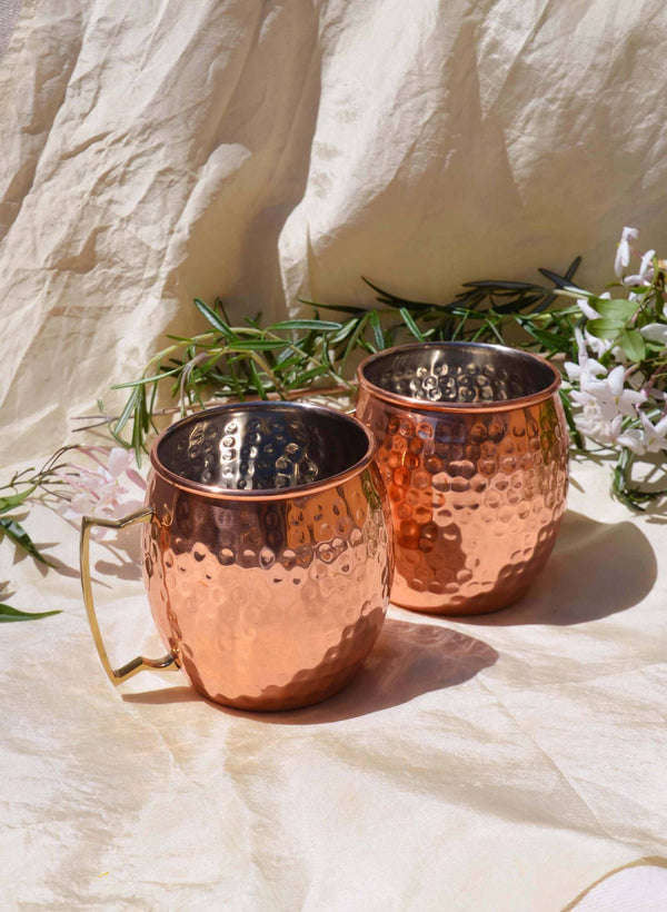 Market Finds: Copper Mugs
