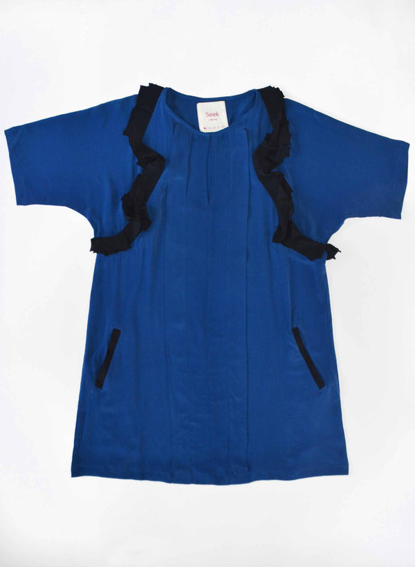 Archive Sale | Cove Dress, indigo