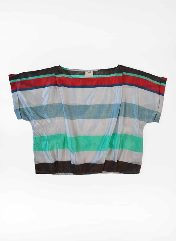 Archive Sale | Maggie Top, festa stripe