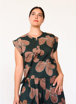 Kerry Top, fern Hilma print