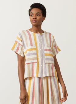 Megan Shirt, Tuscan stripe