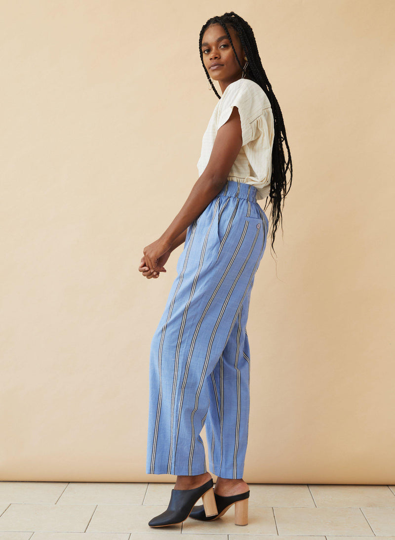 Sukie Pants, blue sky stripe