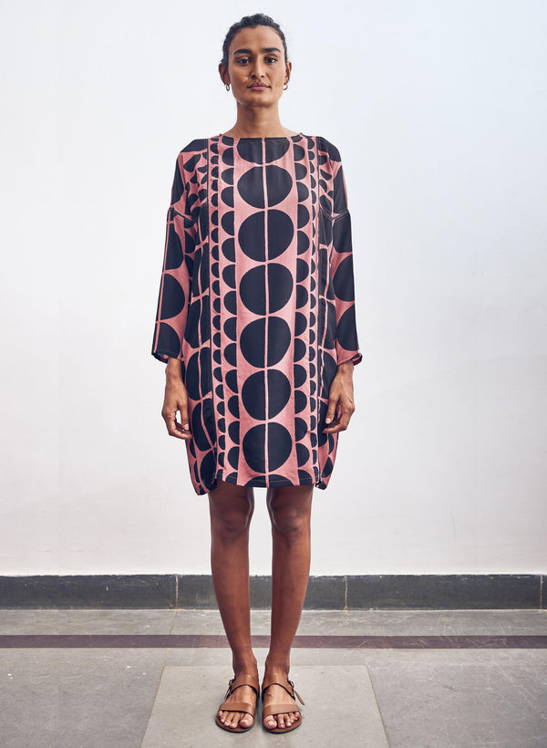 Sara Dress, primrose eclipse print