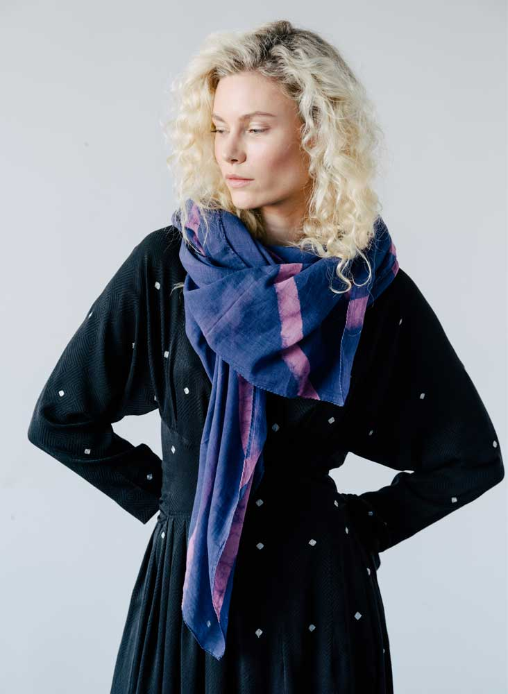 Wayfarer Scarf, royal diamond - IRC