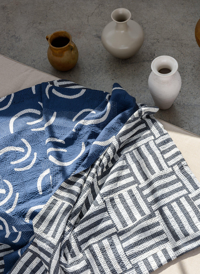 Gudri Quilt, sea waves