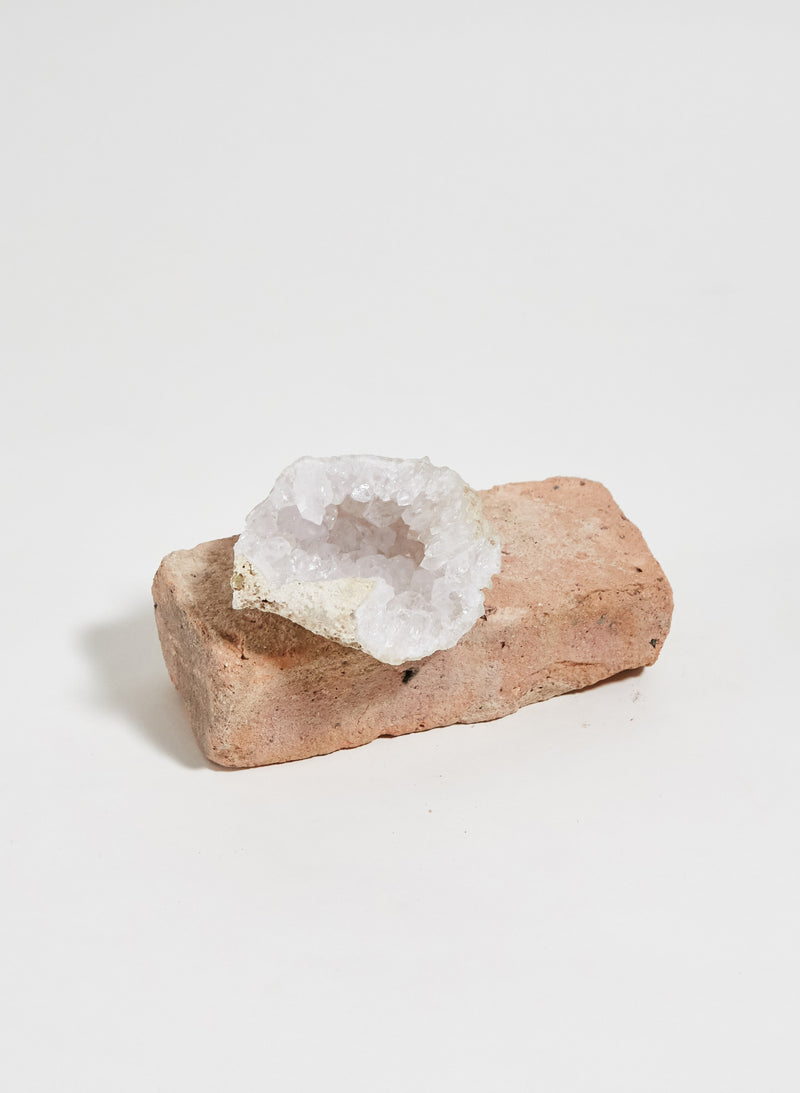 Market Finds: Large Quartz Crystal Geode