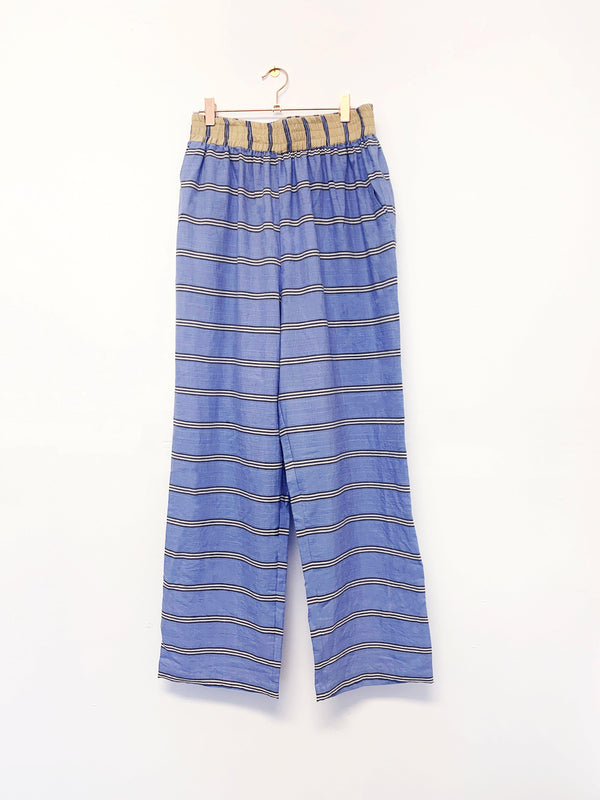 Archive Sale | Sukie Pants, blue sky + shoreline stripe