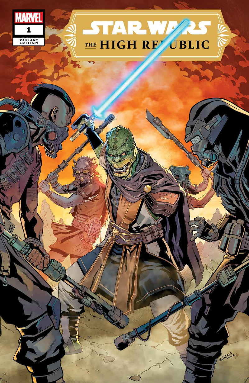 STAR WARS HIGH REPUBLIC #1 & #2 COVER A's  SET NIHIL WANTED COMIX EXCLUSIVE SLINEY COMBO