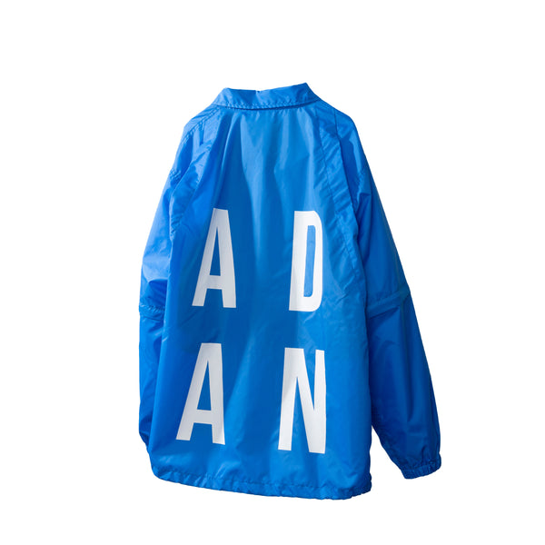 A.D.A.N / STAFF JACKET / BLUE